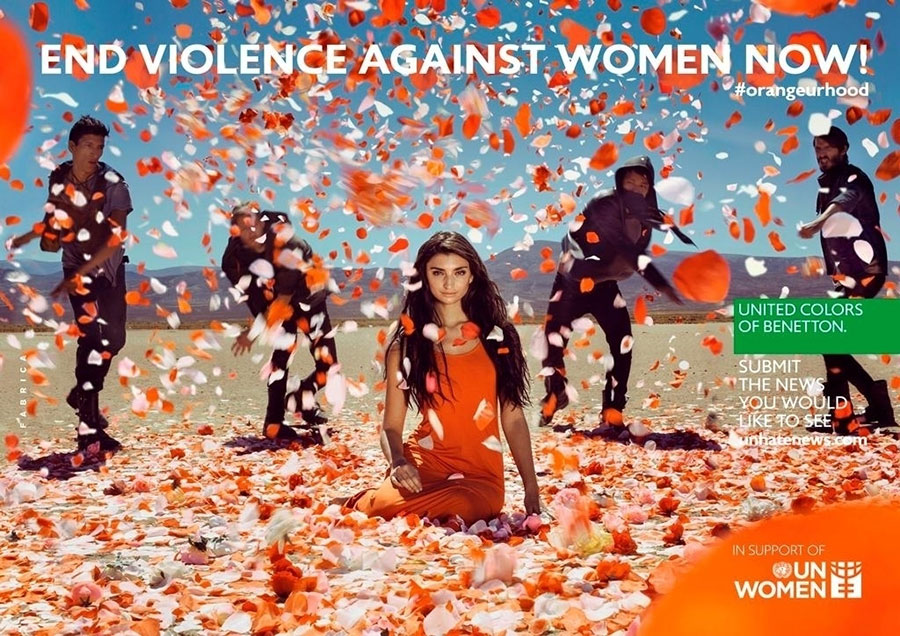 United Colors of Benetton and UN Women: End Violence Against Women Now!