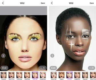 Get a free Fashion Week digital makeover with Perfect365 app