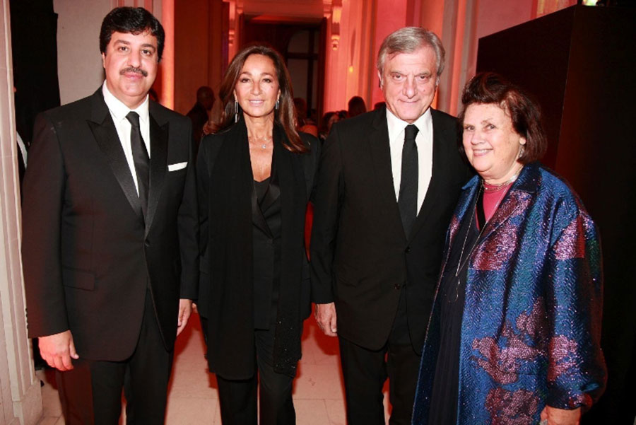 AbdulAziz Al Rabban (Partner at Place Vendome Qatar) - Katia Toledano - Sidney Toledano (CEO at Christian Dior) - Suzy Menkes (Vogue International Editor)