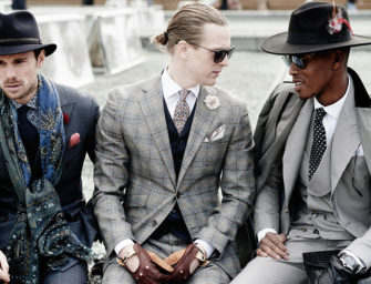 The Suitable Man Meets Pitti Uomo