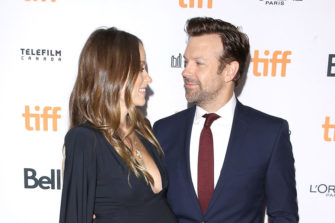 Actor Jason Sudeikis in Ben Sherman at Toronto Film Festival