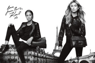 Karl Lagerfeld Paris Launches in North America: Love from Paris, Karl xx