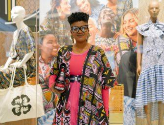 Palesa Mokubung makes history with H&M