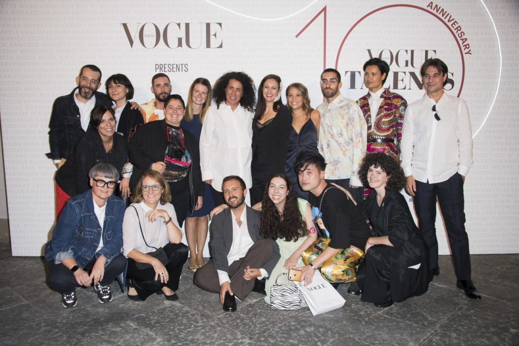 Sara Maino and Vogue Talents 10 global team
