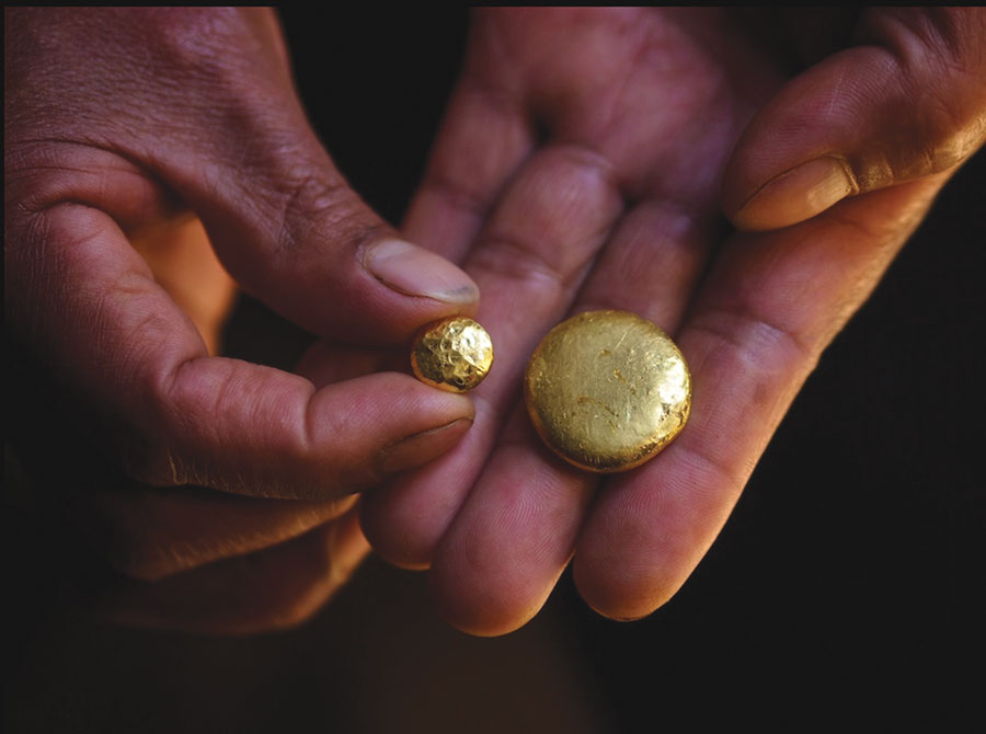 Gold: do you know where yours is from?
