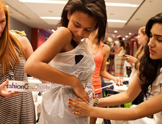12-Year Olds Prepare for Future Retail Fashion Careers