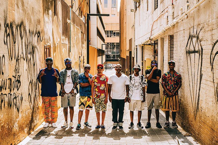 Boyz n Bucks. Photograph by Adriaan Louw