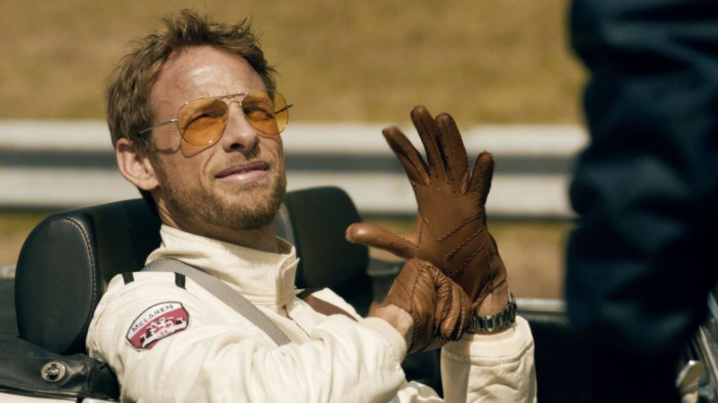 Formula One World Champion and McLaren Honda driver Jenson Button features in the new campaign.