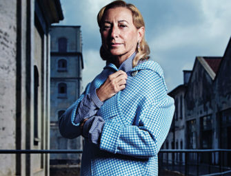 Miuccia Prada Talks Menswear, Revolution and History