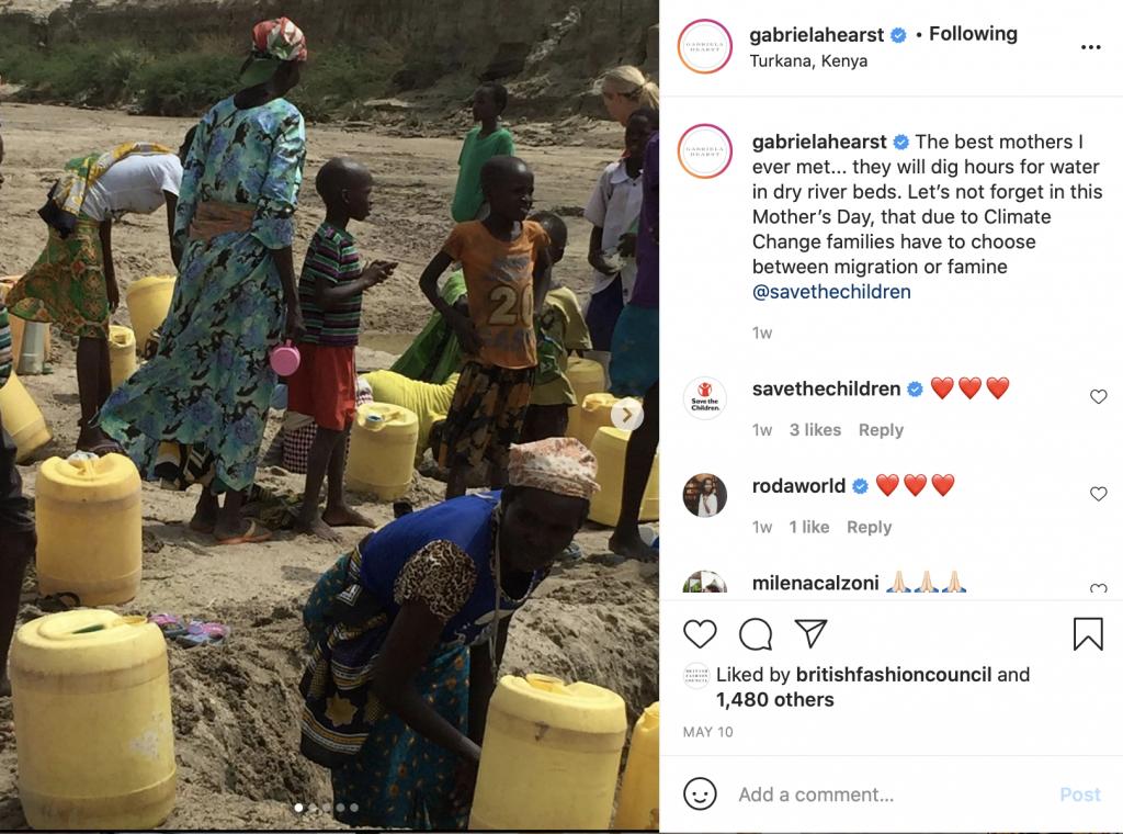 Gabriela Hearst turkana Global Climate challenge